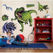 Dinosaurs Giant Wall Decals  -""