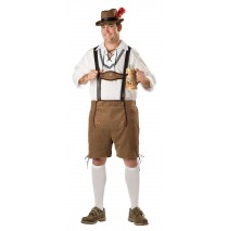 Oktoberfest Guy  Adult Plus Costume -Plus (3X)