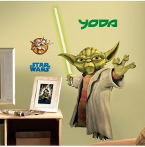 Yoda Removable Wall Decorations -""