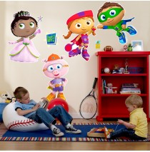 Super Why! Giant Wall Decals -""