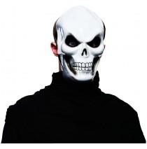 White Skull Mask Adult -One-Size