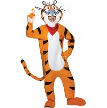 Frosted Flakes Tony the Tiger Adult Costume -One Size Fits Most Adults
