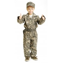 Jr. Camouflage Toddler / Child Costume -8/10