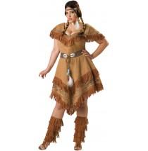 Indian Maiden Adult Plus Costume -Plus (2X)
