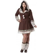 Eskimo Kiss Adult Plus Costume -3XL (18-20)