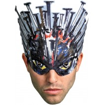 Clive Barker - Devil & Nail Head Adult Paper Masks -One-Size