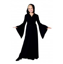 Black Child Robe -Medium (7-8)