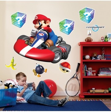 "Mario Kart Wii Giant Wall Decals -"" - 72041-360x365.jpg"