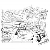 "Disney Cars 2 Jumbo Puzzle -"""