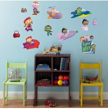 Super Why! Removable Wall Decorations -""