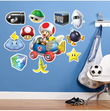 "Mario Kart Wii Toad Giant Wall Decal -"" - 75474-360x365.jpg"