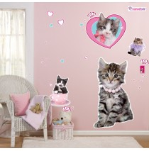 rachaelhale Glamour Cats Giant Wall Decals -""