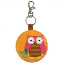 "Owl Mirror Keychain -"""