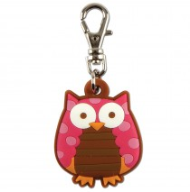 "Owl Zipper Pull -"""