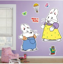 Max & Ruby Giant Wall Decals -""