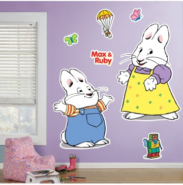 "Max & Ruby Giant Wall Decals -"" - 76956-360x365.jpg"