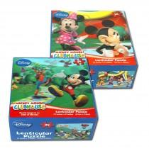 "Disney Mickey Lenticular Puzzle -"""