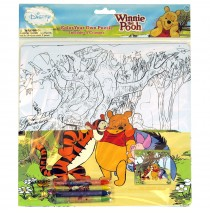 Disney Pooh Color Your Own Puzzle -""