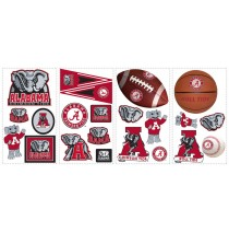 Alabama Crimson Tide Removable Wall Decals -""