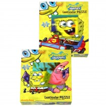 """Spongebob Lenticular Puzzle -"""""""