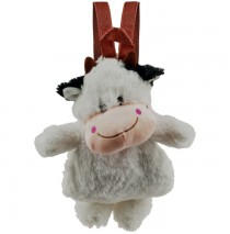 Cuddlee PetT Plush Animal Backpack - Cow