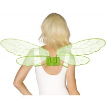 Adjustable Green Dragonfly Wings -One-Size