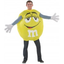 Yellow M&M Inflatable Adult Costume -One-Size (Standard)