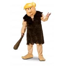 The Flintstones - Barney Rubble Mascot Adult Costume -One-Size