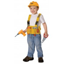 Construction Worker Child Costume Kit -One Size (Fits Sizes 4-8)