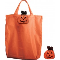 Tote-Em Pumpkin Folding Tote Bag (Child) -One-Size