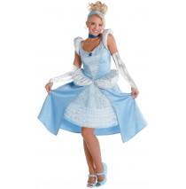 Cinderella Prestige Teen Costume -Teen (7-9)