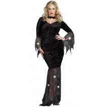 Mysterious Mistress Adult Plus Costume -Plus (3X/4X)