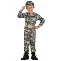 Army Toddler Costume -2T-4T