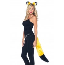 Rockin' Fox Yellow Adult Accessory Kit -One-Size