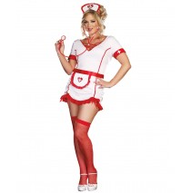 Nurse Juana B. Sedated Adult Plus Costume -3X/4X