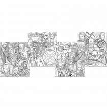The Avengers Color Your Own Puzzles -""