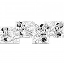 Disney Minnie Mouse Bow-tique Color Your Own Puzzles -""