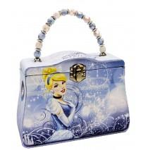 "Disney Cinderella Tin Box Carry All -"""
