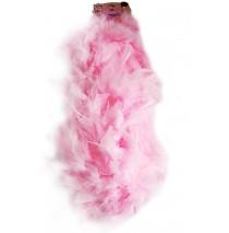 "Light Pink Boa -"""