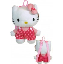 Hello Kitty Plush Backpack -""