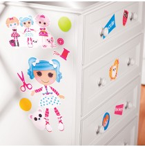 Lalaloopsy Peel and Stick Wall Decals -""