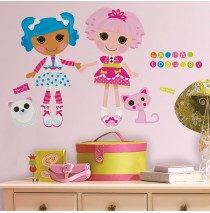 Lalaloopsy Peel and Stick Giant Wall Decals -""