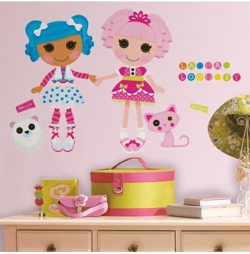 """Lalaloopsy Peel and Stick Giant Wall Decals -"""" - 87546-360x365.jpg"""