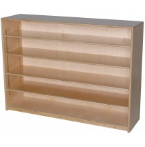 Mainstream Single Storage Unit with 4-Adjustable Shelves, 48''w x 15''d x 36''h  (12''d version pictured)
