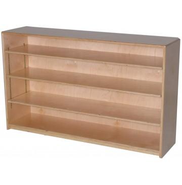 Mainstream Single Storage Unit with 3-Adjustable Shelves, 48''w x 12''d x 30''h - sf1010s3adj12_stor12x30-3sh-360x365.jpg