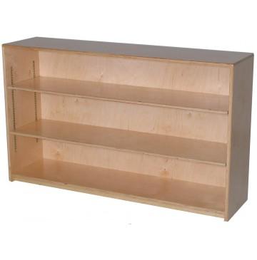 Mainstream Single Storage Unit with 2-Adjustable Shelves, 48''w x 12''d x 30''h - sf1010sadj12_stor12x30-2sh-360x365.jpg