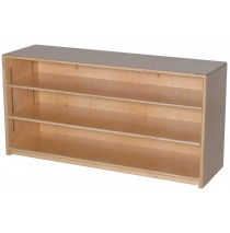Mainstream Single Storage Unit with 2-Adjustable Shelves, 48''w x 12''d x 24''h