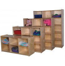 Mainstream Jumbo Infant/School Age Cubbies for 9, 36''h (2nd unit from front in photo)
