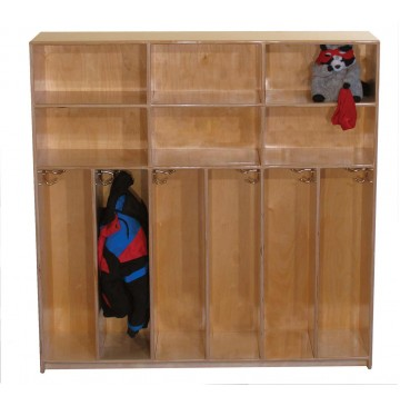 Mainstream Divided Preschool Lockers for 4, 24''w x 12''d x 48''h (Lockers for 6 shown) - sf1255_psdivlkrcub6-360x365.jpg