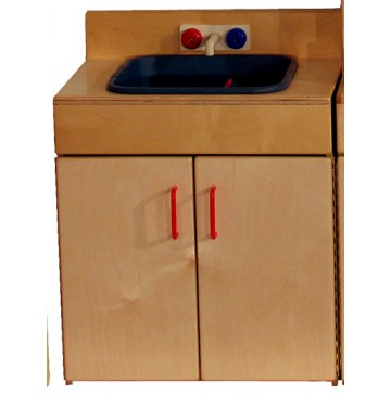 Mainstream School Age Indestructible Sink, 21-5/8''w x 15''d x 32''h, 28''h to stove top - sf204_sink-360x365.jpg